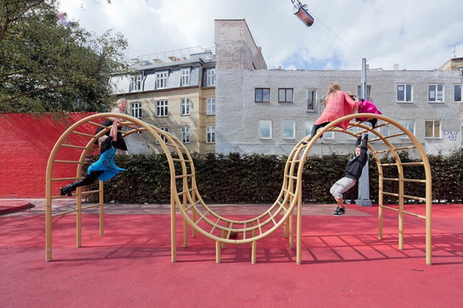 Công viên nghệ thuật đa sắc màu ở Đan Mạch  - ảnh 7