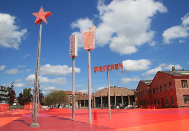 Công viên nghệ thuật đa sắc màu ở Đan Mạch  - ảnh 8