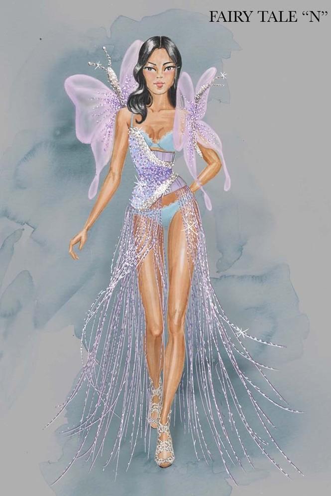 Hé lộ dàn 'thiên thần nội y' trong show Victoria's Secret 2014 - ảnh 5