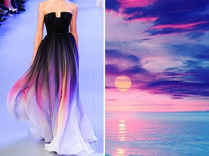 'Sững sờ' những bộ váy tuyệt đẹp lấy cảm hứng từ thiên nhiên - ảnh 1