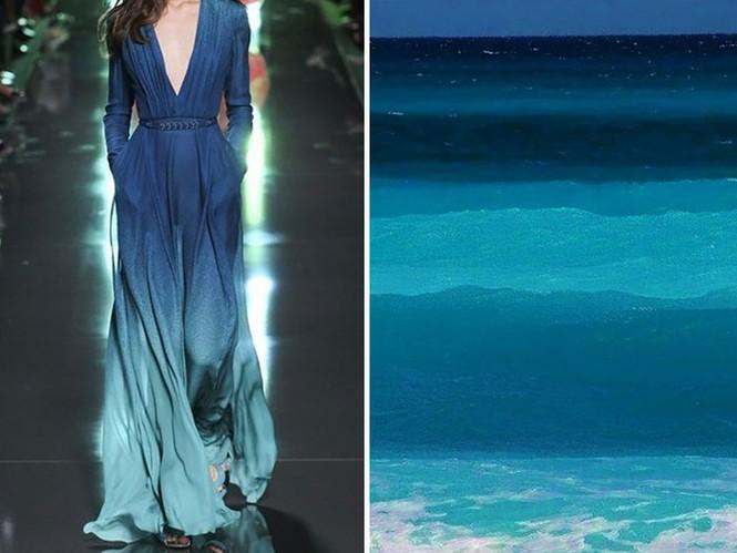 'Sững sờ' những bộ váy tuyệt đẹp lấy cảm hứng từ thiên nhiên - ảnh 13