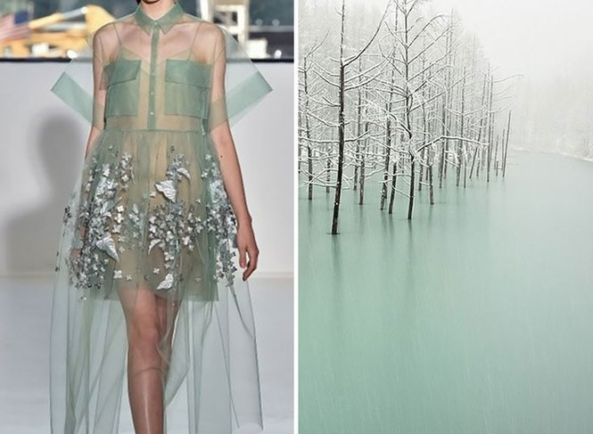 'Sững sờ' những bộ váy tuyệt đẹp lấy cảm hứng từ thiên nhiên - ảnh 14