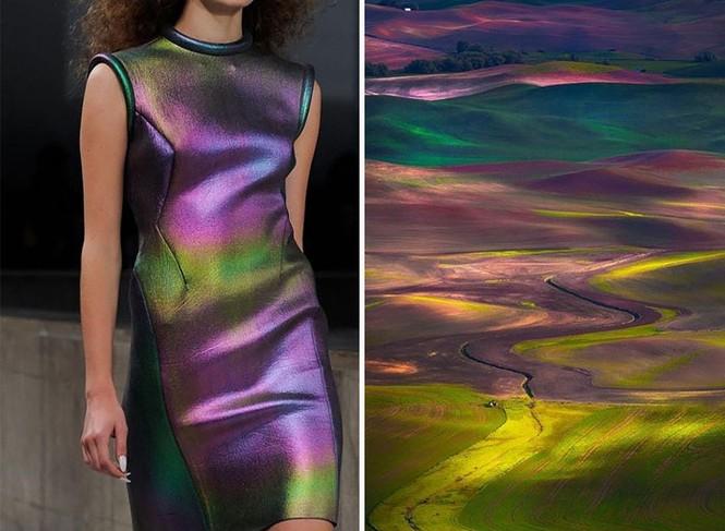 'Sững sờ' những bộ váy tuyệt đẹp lấy cảm hứng từ thiên nhiên - ảnh 3