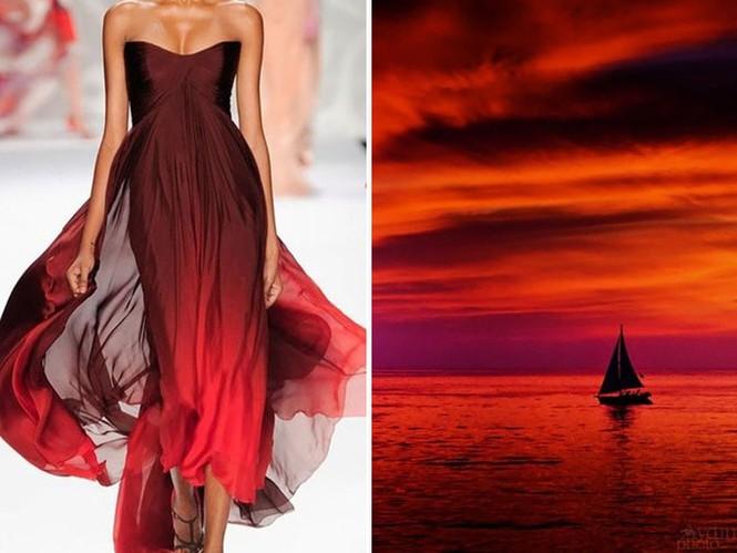 'Sững sờ' những bộ váy tuyệt đẹp lấy cảm hứng từ thiên nhiên - ảnh 9