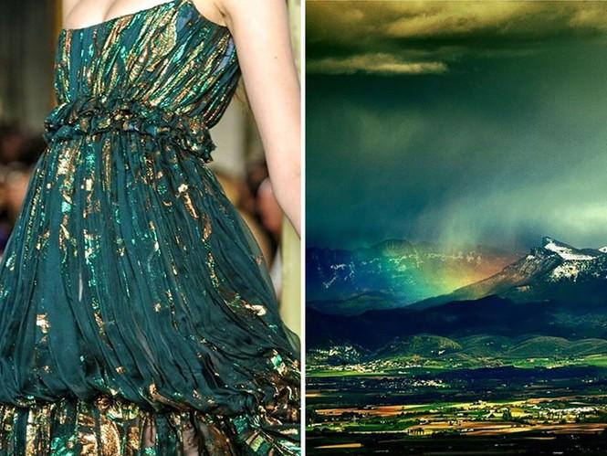 'Sững sờ' những bộ váy tuyệt đẹp lấy cảm hứng từ thiên nhiên - ảnh 22