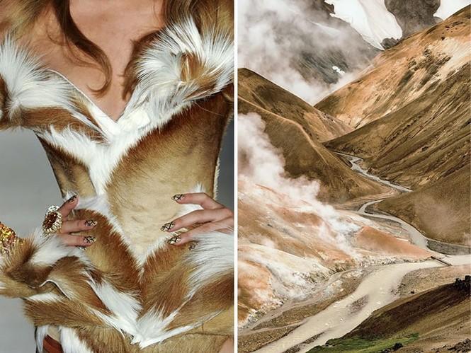 'Sững sờ' những bộ váy tuyệt đẹp lấy cảm hứng từ thiên nhiên - ảnh 23