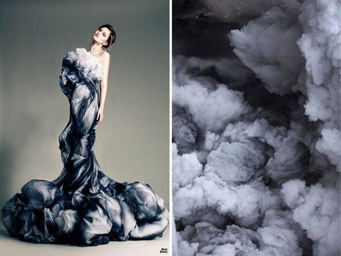'Sững sờ' những bộ váy tuyệt đẹp lấy cảm hứng từ thiên nhiên - ảnh 24