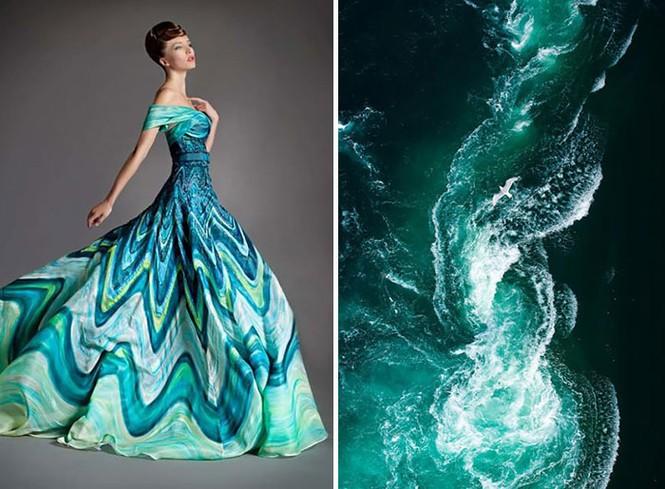 'Sững sờ' những bộ váy tuyệt đẹp lấy cảm hứng từ thiên nhiên - ảnh 25