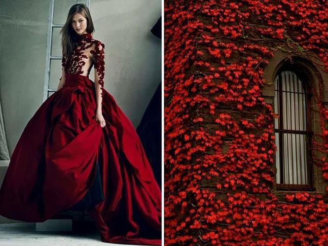 'Sững sờ' những bộ váy tuyệt đẹp lấy cảm hứng từ thiên nhiên - ảnh 4
