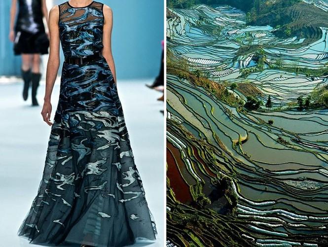 'Sững sờ' những bộ váy tuyệt đẹp lấy cảm hứng từ thiên nhiên - ảnh 12