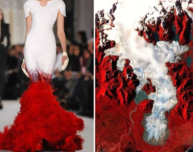 'Sững sờ' những bộ váy tuyệt đẹp lấy cảm hứng từ thiên nhiên - ảnh 18
