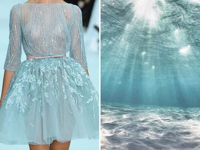 'Sững sờ' những bộ váy tuyệt đẹp lấy cảm hứng từ thiên nhiên - ảnh 6