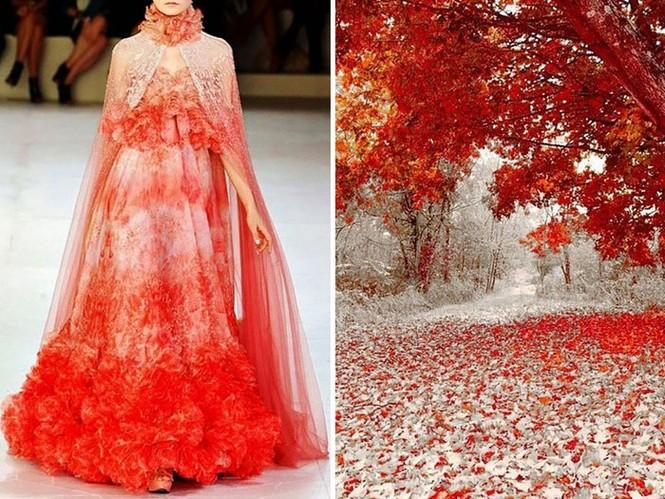 'Sững sờ' những bộ váy tuyệt đẹp lấy cảm hứng từ thiên nhiên - ảnh 19