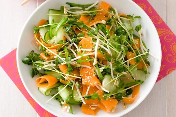 Nộm rau mát lành dễ làm dễ ăn - ảnh 1