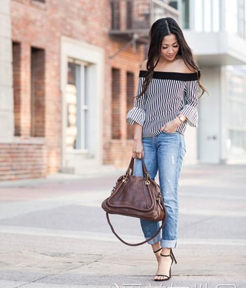 Quý cô gốc Việt cao 1m55 nhưng mặc đẹp như người mẫu 1m7 - ảnh 11