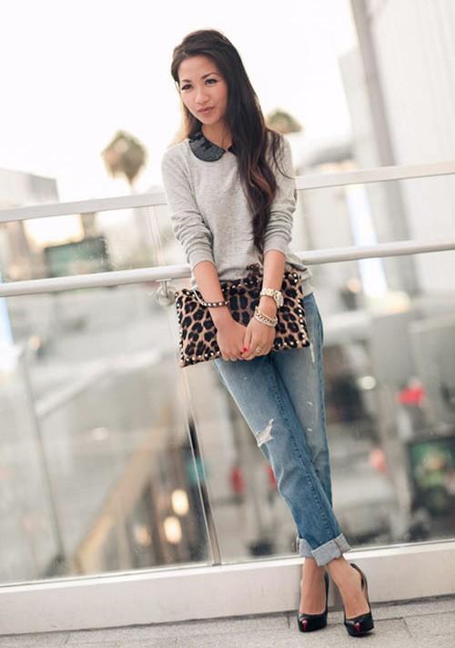 Quý cô gốc Việt cao 1m55 nhưng mặc đẹp như người mẫu 1m7 - ảnh 12