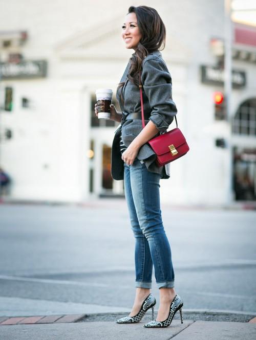 Quý cô gốc Việt cao 1m55 nhưng mặc đẹp như người mẫu 1m7 - ảnh 13