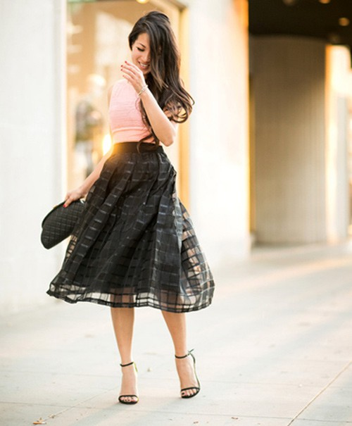Quý cô gốc Việt cao 1m55 nhưng mặc đẹp như người mẫu 1m7 - ảnh 3