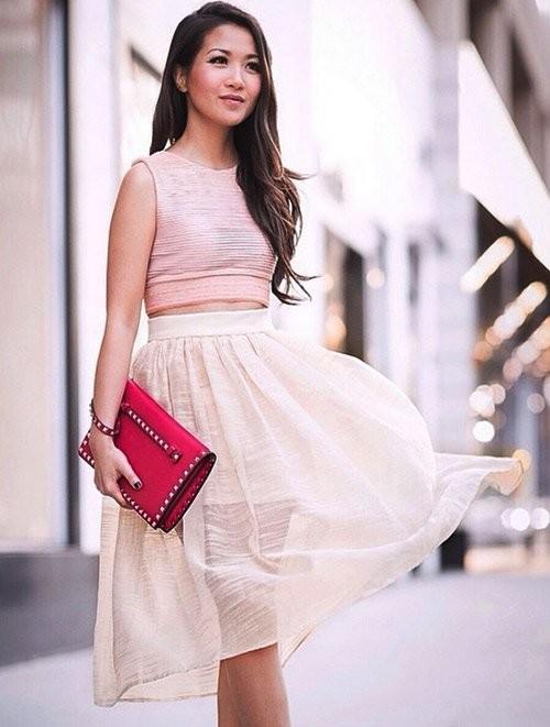 Quý cô gốc Việt cao 1m55 nhưng mặc đẹp như người mẫu 1m7 - ảnh 4