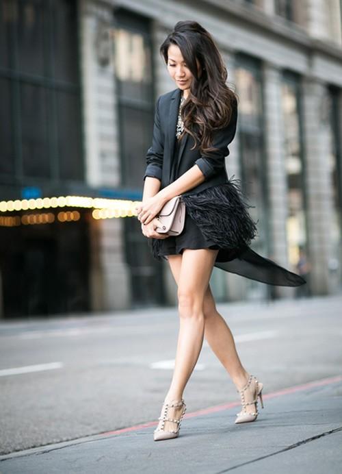 Quý cô gốc Việt cao 1m55 nhưng mặc đẹp như người mẫu 1m7 - ảnh 6