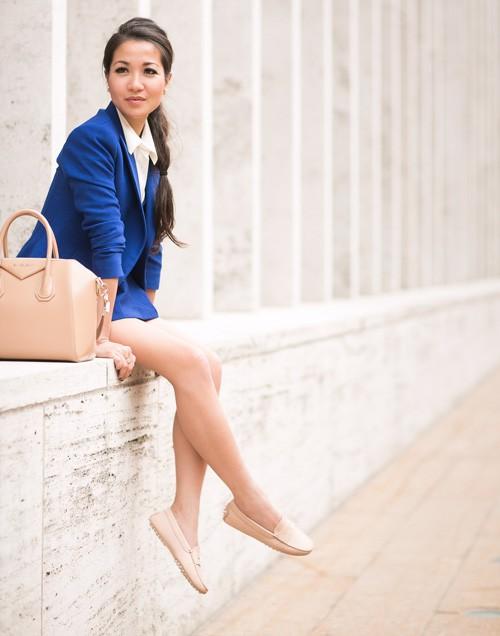 Quý cô gốc Việt cao 1m55 nhưng mặc đẹp như người mẫu 1m7 - ảnh 7