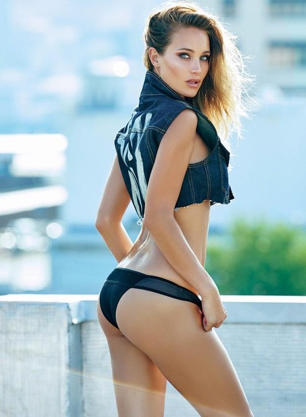 Hannah Davis bán nude với đường cong nóng bỏng  - ảnh 5