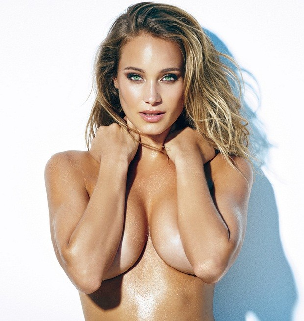 Hannah Davis bán nude với đường cong nóng bỏng  - ảnh 7