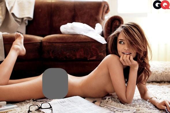 Miranda Kerr lại gây 'sốc' khi khoe thân táo bạo - ảnh 3