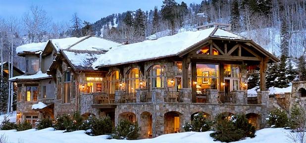 Những ngôi nhà phủ đầy tuyết trắng khắp thế giới - ảnh 3