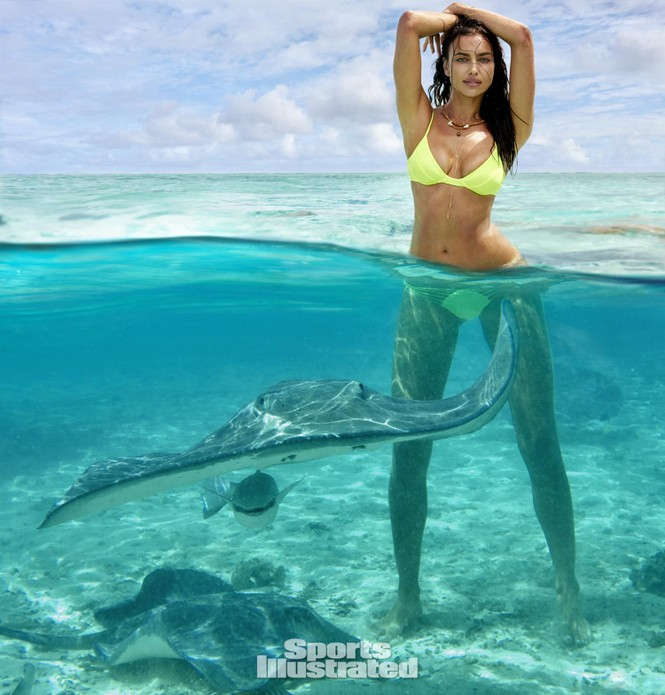Irina Shayk: 10 năm làm mẫu cho tạp chí áo tắm Sports Illustrated - ảnh 3