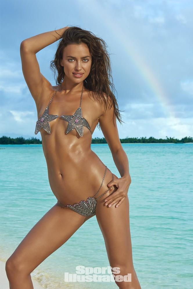 Irina Shayk: 10 năm làm mẫu cho tạp chí áo tắm Sports Illustrated - ảnh 9
