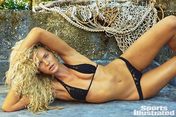 Erin Heatherton bốc lửa trên Sports Illustrated 2016 - ảnh 8