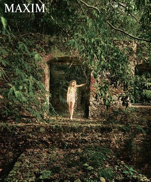 Mê mẩn ngắm đường cong nữ thần của Hannah Davis  - ảnh 5
