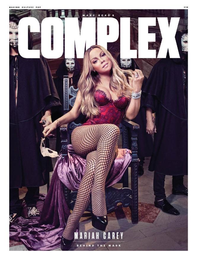 Diva Mariah Carey 46 tuổi vẫn quá trẻ trung gợi cảm - ảnh 7
