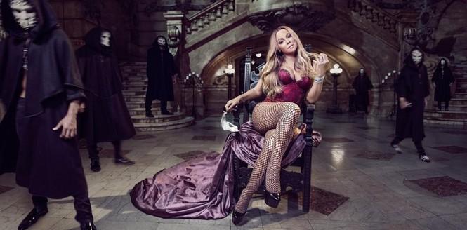 Diva Mariah Carey 46 tuổi vẫn quá trẻ trung gợi cảm - ảnh 6
