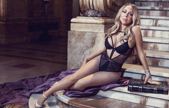 Diva Mariah Carey 46 tuổi vẫn quá trẻ trung gợi cảm - ảnh 1