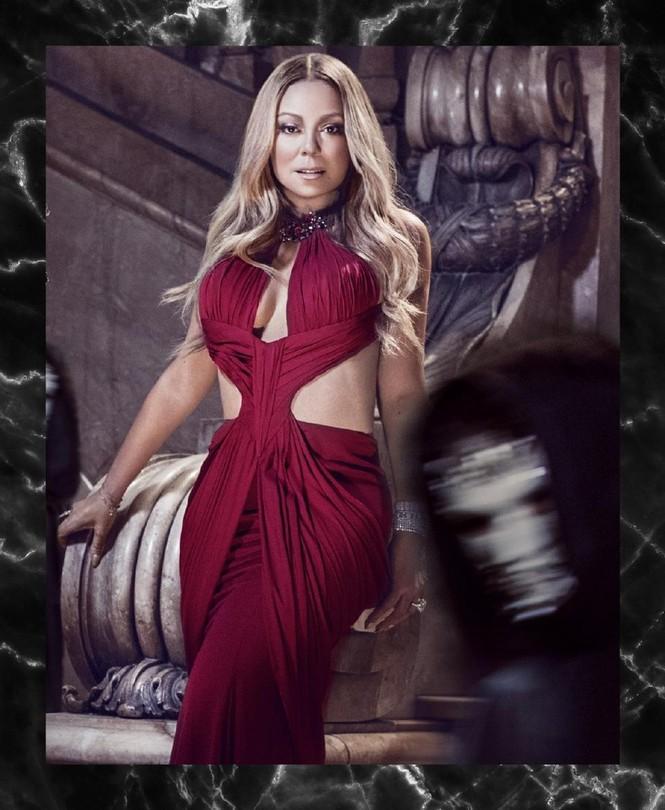 Diva Mariah Carey 46 tuổi vẫn quá trẻ trung gợi cảm - ảnh 4