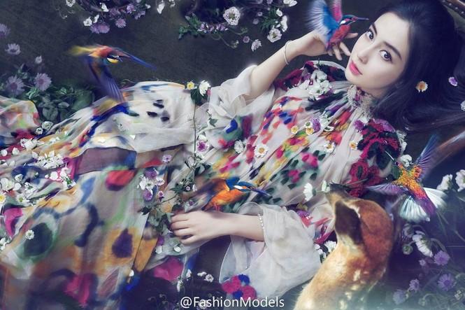 Angelababy quyến rũ khi hóa thân thành 'nàng Bạch Tuyết' - ảnh 1