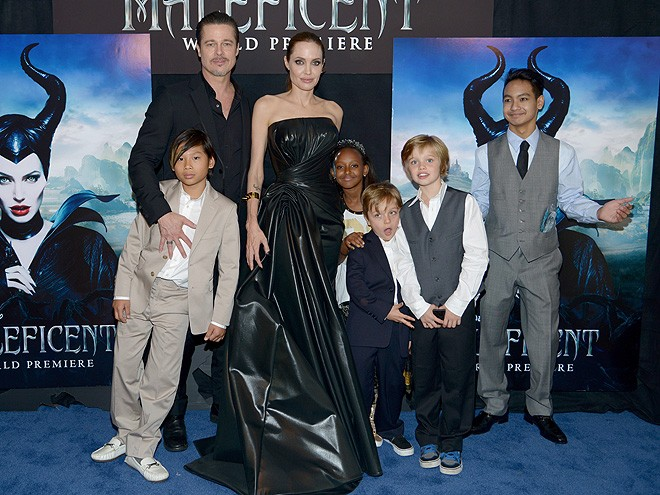 Brad Pitt, Angelina Jolie - ảnh 1