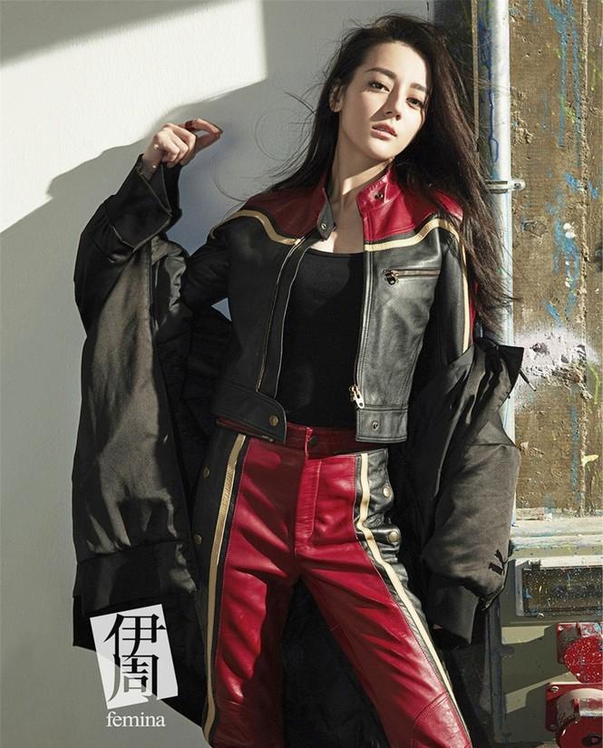 Địch Lệ Nhiệt Ba, fashionista  - ảnh 3