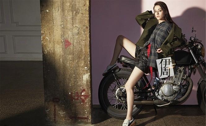 Địch Lệ Nhiệt Ba, fashionista  - ảnh 1