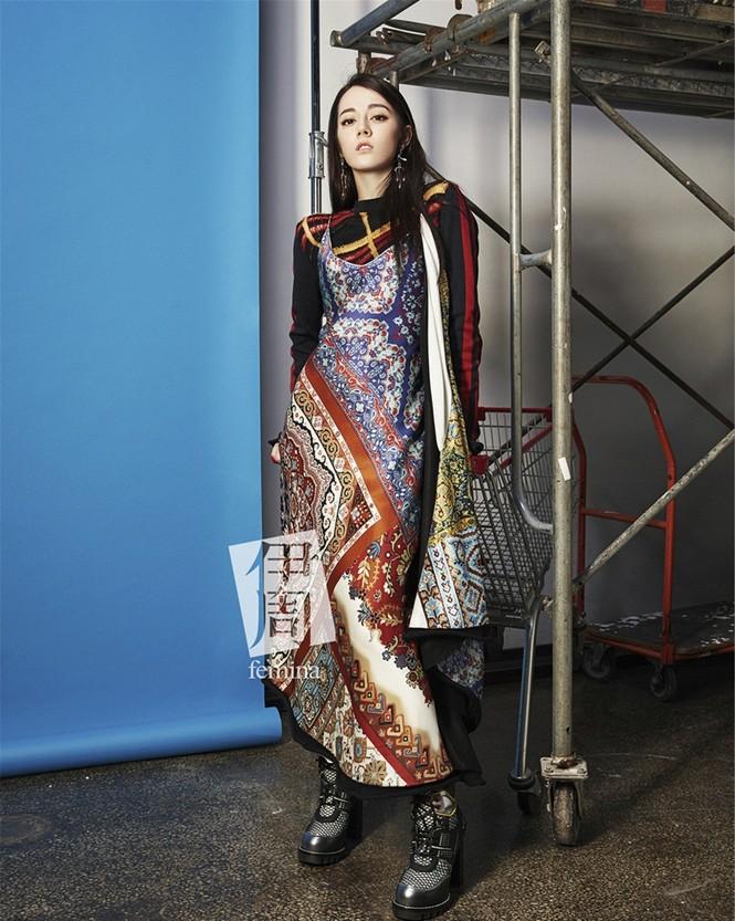 Địch Lệ Nhiệt Ba, fashionista  - ảnh 5
