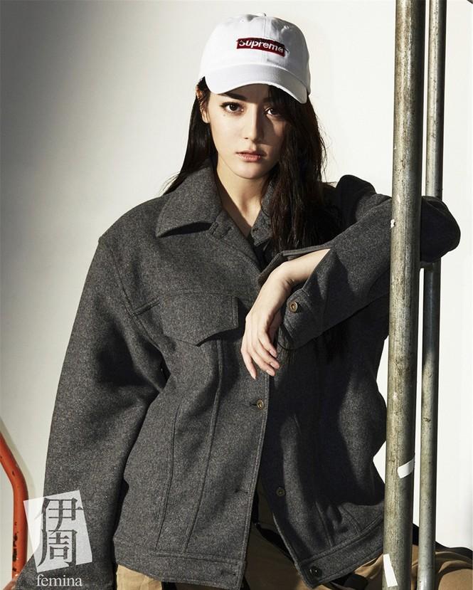 Địch Lệ Nhiệt Ba, fashionista  - ảnh 4