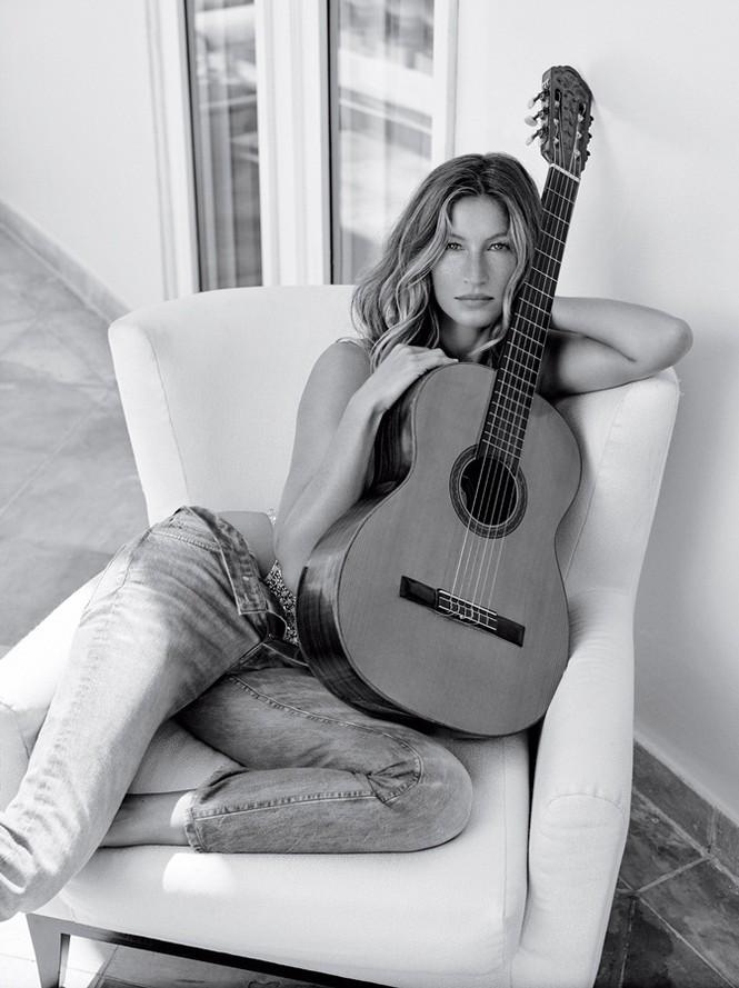 siêu mẫu,tạp chí,Vogue,chân dài,bộ ảnh,hoàn hảo,khoe dáng,đắt giá, Gisele Bundchen, mỹ nhân xứ Samba - ảnh 6