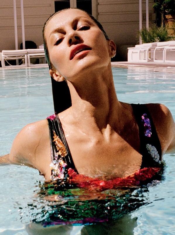 siêu mẫu,tạp chí,Vogue,chân dài,bộ ảnh,hoàn hảo,khoe dáng,đắt giá, Gisele Bundchen, mỹ nhân xứ Samba - ảnh 5
