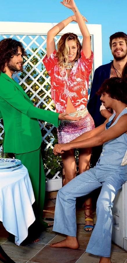 siêu mẫu,tạp chí,Vogue,chân dài,bộ ảnh,hoàn hảo,khoe dáng,đắt giá, Gisele Bundchen, mỹ nhân xứ Samba - ảnh 9