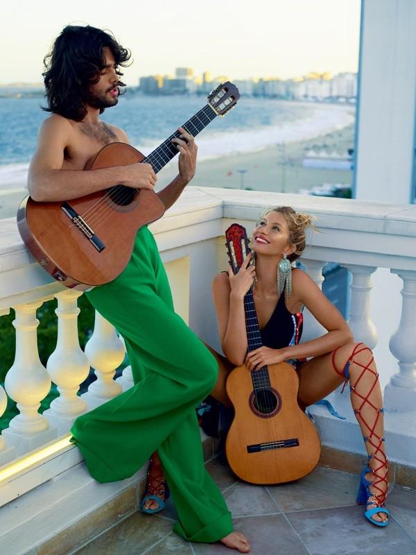 siêu mẫu,tạp chí,Vogue,chân dài,bộ ảnh,hoàn hảo,khoe dáng,đắt giá, Gisele Bundchen, mỹ nhân xứ Samba - ảnh 2