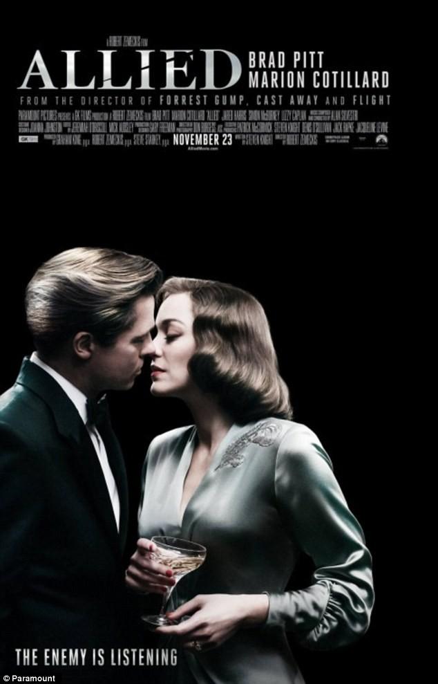 phim,bộ phim,fan,xuất hiện,giải thưởng,Oscar,Angelina Jolie,Brad Pitt, Allied, Marion Cotillard, Angie, Brangelina - ảnh 2