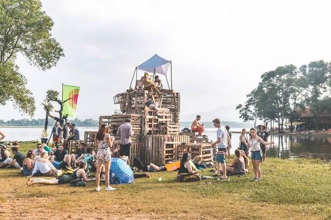Sôi động với lễ hội âm nhạc trong rừng tại Ba Vì - ảnh 7