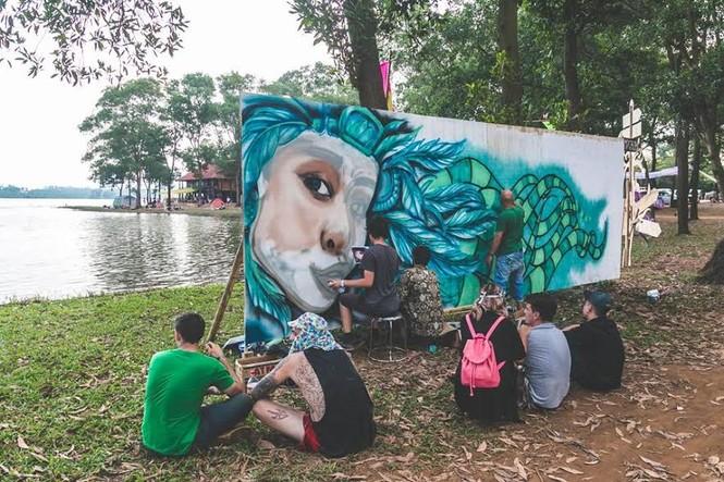 Sôi động với lễ hội âm nhạc trong rừng tại Ba Vì - ảnh 8